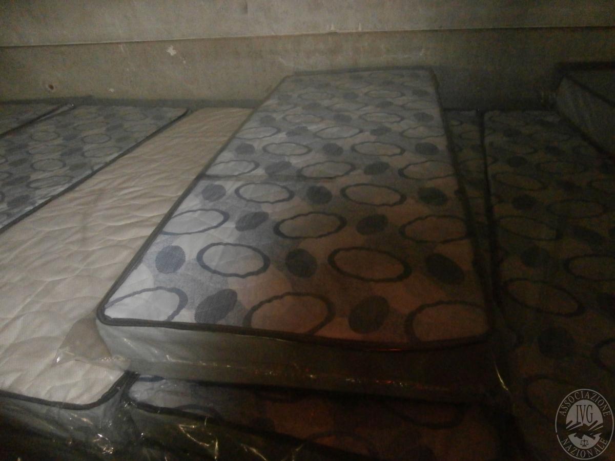 materassi singoli a molle+lastre in lattice per materassi