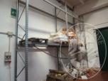 Immagine di scaffalatura pesante composta da 3 montanti e 4 ripiani