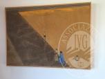 Immagine di Lotti 28 e 29: Coppia di dipinti a tecnica mista su carta intelaiata a firma Marco Perroni,