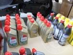 Flaconi di olio motore di varie marche e tipologie (lotto 43)