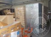 Fall. Trans Vector 2 Srl n. 921/2017 - LOTTO 5: Magazzino merci varie costituito da parti di scaffali, lampade, pavimento sopraelevato, macchine ufficio (in parte dismesse), macchina per la produzione del pluriball, arredi e complementi