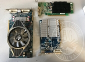 Lotto di attrezzature per video sorveglianza e telefonia