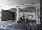 Fall. Officina Riparazioni Auto Srl n. 649/2018 - Attrezzature strumentali per carrozzeria, impianto di aspirazione/verniciatura Blowtherm completo di accessori, forno,   magazzino e quant'altr