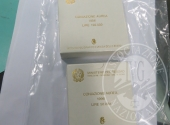 # 2 Lot 1 collectible gold coins:-Italy, of which the technical information available to the documentation