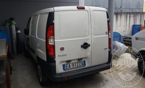 AUTOCARRO FIAT DOBLO' TG. EA912ZA IMM. 2010 CIL. 1248 SENZA DOC (trascrizioni: fallimento)-BENE SITO A FOSSALTA DI PIAVE (VE)